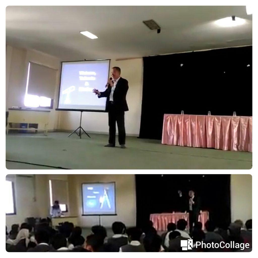 seminar motivasi menyambut ujian nasional