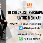 checklist persiapan diri untuk menikah