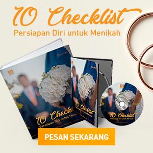 10 checklist persiapan diri untuk menikah