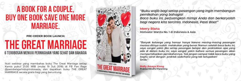 launching buku the great marriage