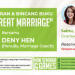 peluncuran dan bincang buku the great marriage