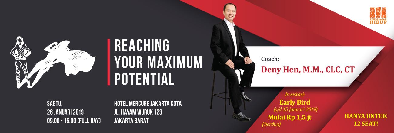 seminar reaching your maximum potential