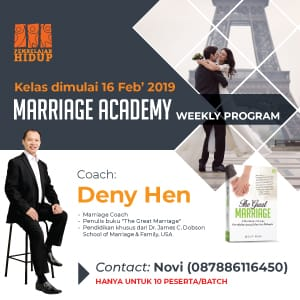 marriage academy weekly program