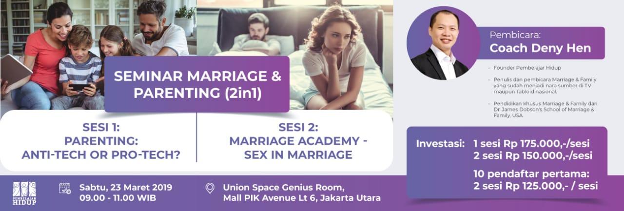 Marriage & parenting seminar