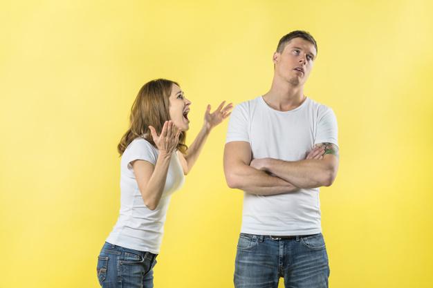 konflik dengan pasangan