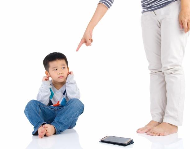 menghukum anak