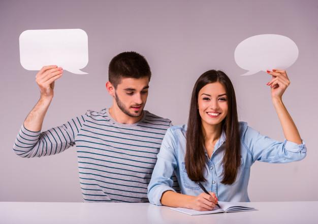 percakapan yang menyenangkan dengan pasangan