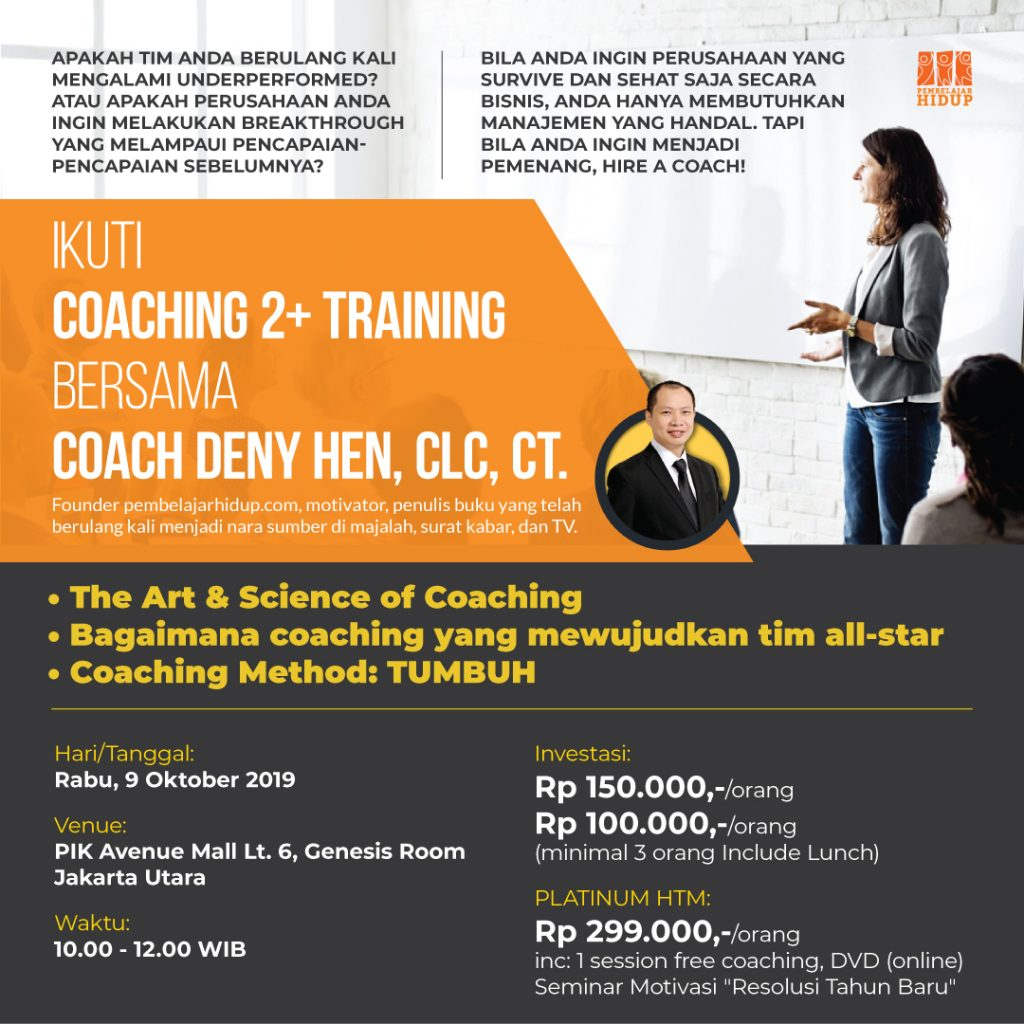 coaching 2+ training