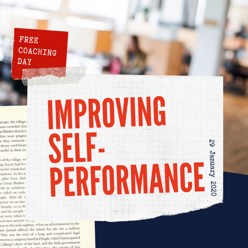 Free coaching day: improving self performance