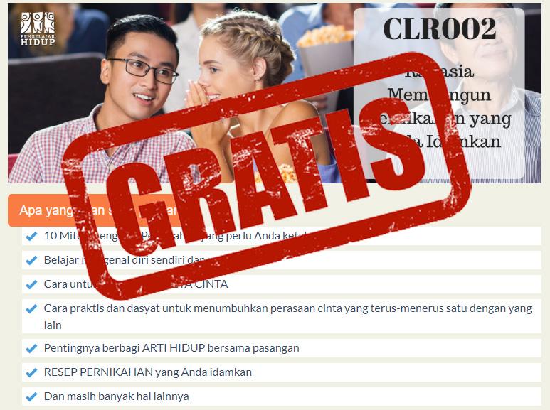 kelas pernikahan online gratis selama wabah corona