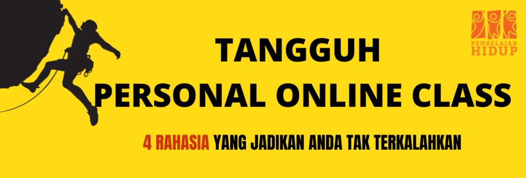 TANGGUH PERSONAL ONLINE CLASS