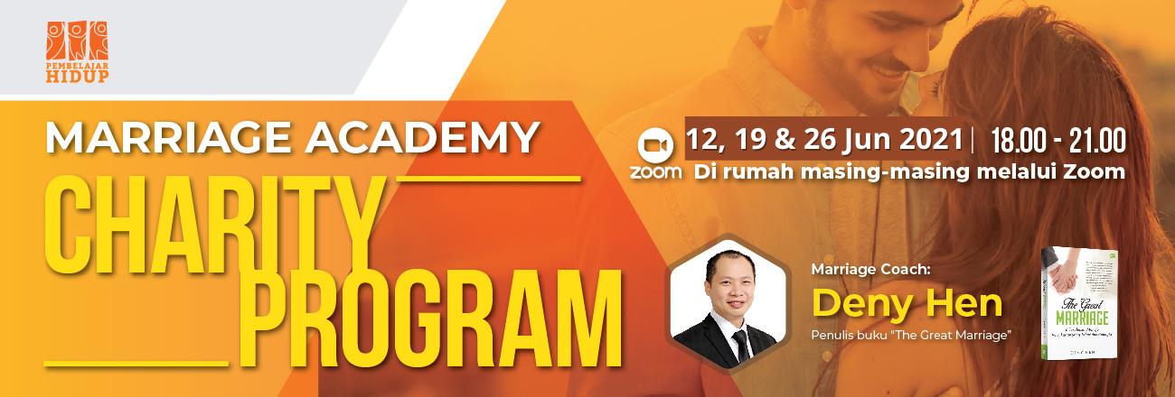 marriage academy charity program